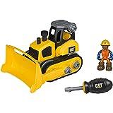 Toy State Caterpillar CAT Junior Operator Bulldozer Construction Vehicle