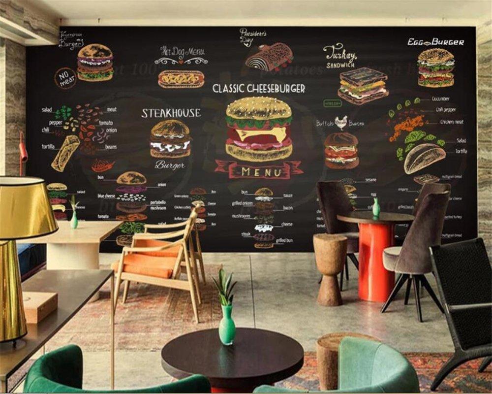 BZDHWWH Custom 3D Wallpaper Mural Dibujado A Mano Colorido ...