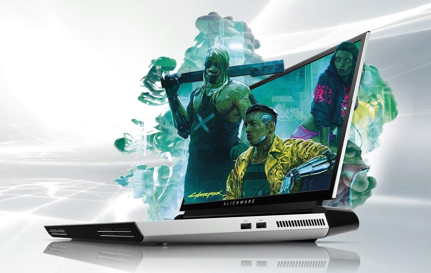"""Area 51M Gaming Laptop Welcome to A New ERA with 9TH GEN Intel CORE I9-9900K GEFORCE RTX 2080 8GB GDDR6 17.3"""" FHD 144HZ AG IPS G-SYNC TOBII EYETRACKING (512GB SSD RAID