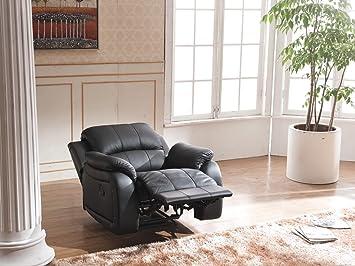 Leder Fernsehsofa Relax Sessel Fernsehsessel Mit Schlaffunktion 5129