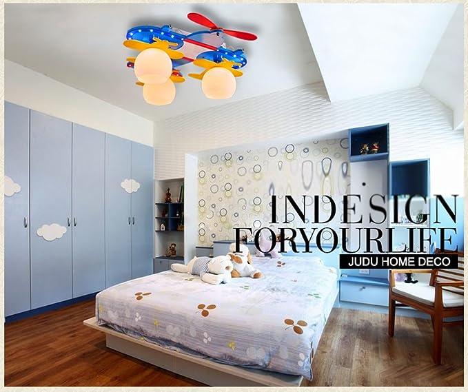 Leichtflugzeug Junge Cartoon Kinderzimmer Lampen Kinderzimmer ...
