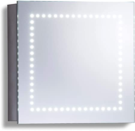 Amazon De Led Beleuchteter Badezimmer Spiegelschrank