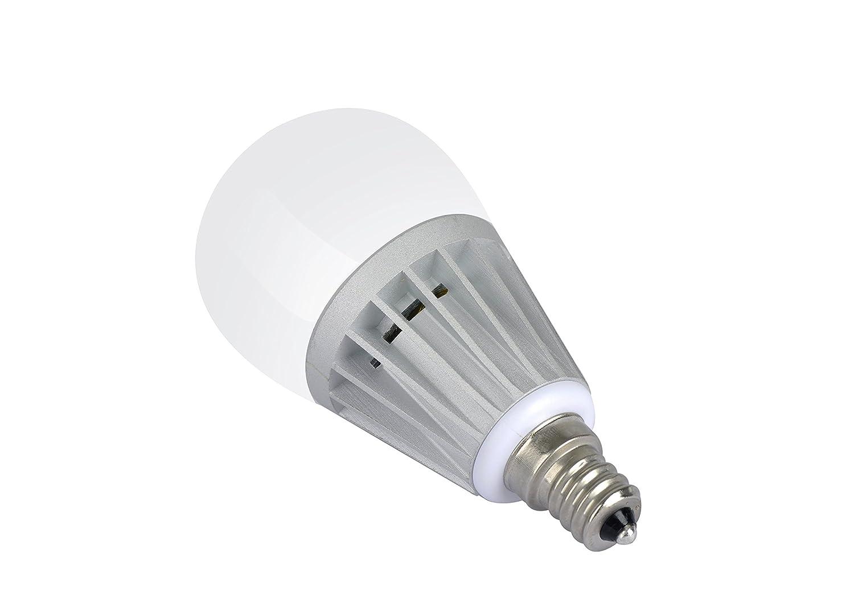 6 pack, warm white) sunthin 5w led candle bulb, led candelabra ...