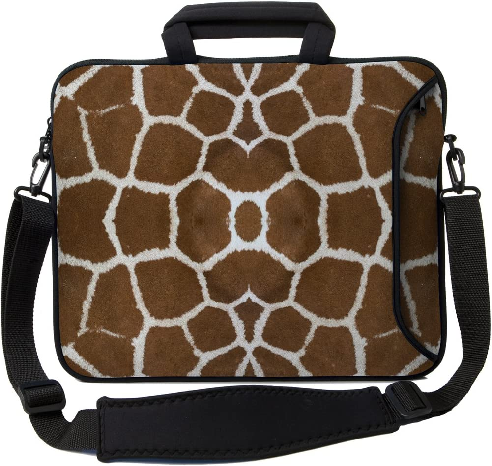 "Designer Sleeves 15"" Giraffe Executive Laptop Case"