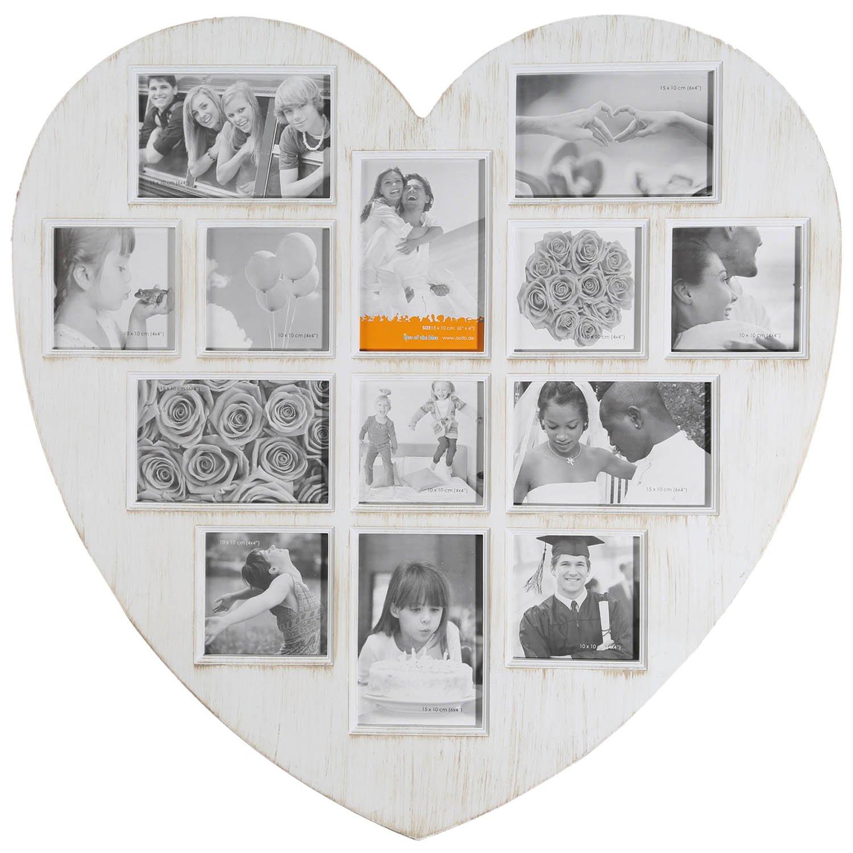 Amazon.de: Bilderrahmen Antique Heart - Herz Bilderrahmen