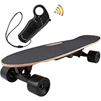 OppsDecor Electric Skateboard Youth Electric Longboard with Remote Control for Adults, 7 Layers Maple Longboard, 12 MPH…