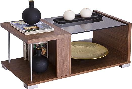 Intradisa 2036 - Mesa de centro de diseño moderno, 38 x 92 x 50 cm ...