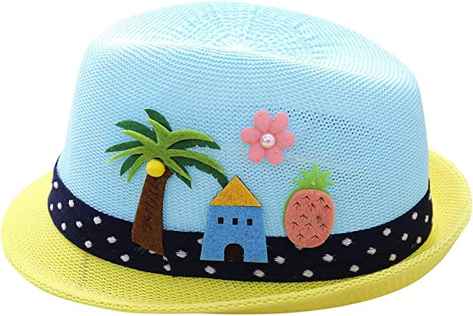 Sombrero de Bordado de Letra Árbol de Coco para Fiesta Ceremonia ...
