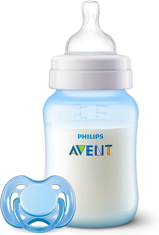 Philips Avent SCD809/03 - Set de biberón Anti-colic, azul: Amazon.es: Bebé
