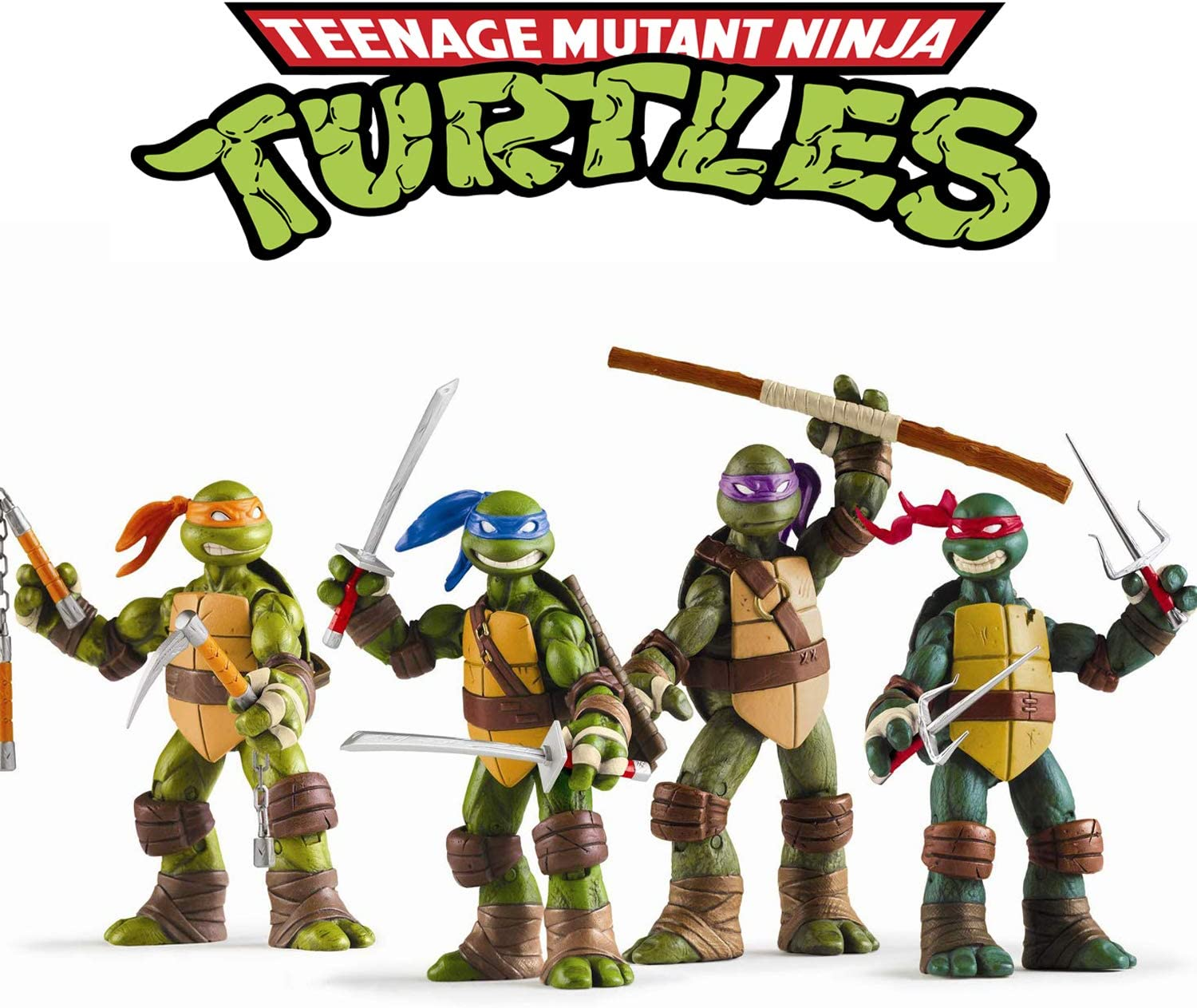 Amazon Com Vitadan Ninja Turtles 4 Pcs Set Teenage Mutant Ninja