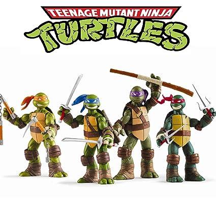 Amazon.com: Vitadan Ninja Turtles 4 PCS Set - Teenage Mutant ...