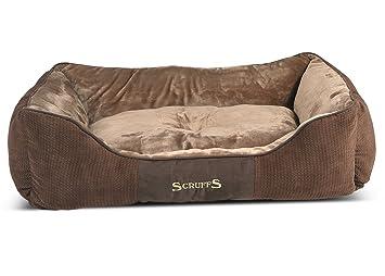 Scruffs Chester perro cama, XL, 90 x 70 cm, color marrón: Amazon.es: Productos para mascotas