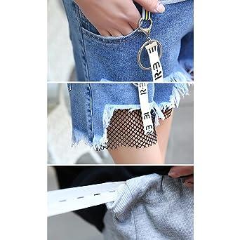 4a89b105f Hzjundasi Elásticos Pantalón Pantalones Vaqueros Jeans Pants para Mujeres  Embarazadas Cinturón de Embarazo Azul  Amazon.es  Ropa y accesorios