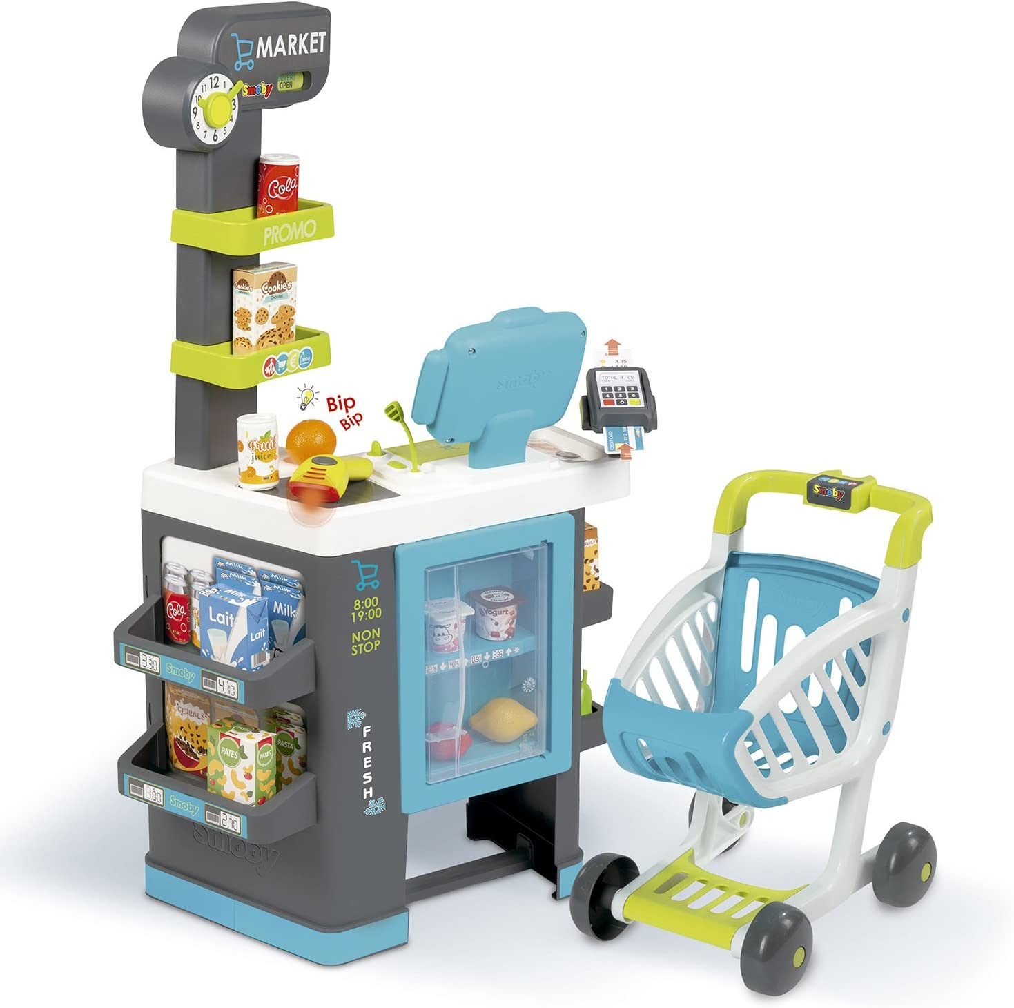 Supermercado urbano Fresh City Market (Smoby 350218): Amazon.es: Juguetes y juegos