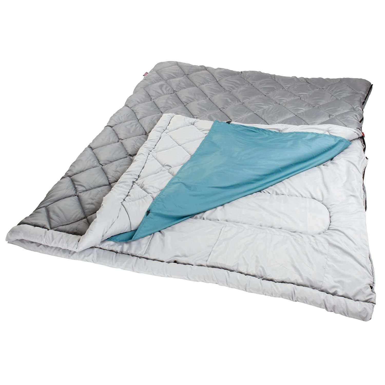 Coleman Tandem 3-in-1 45 Big and Tall Double Adult Sleeping Bag