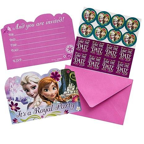 Amazon.com: Invitaciones de fiesta de cumpleaños para niñas ...