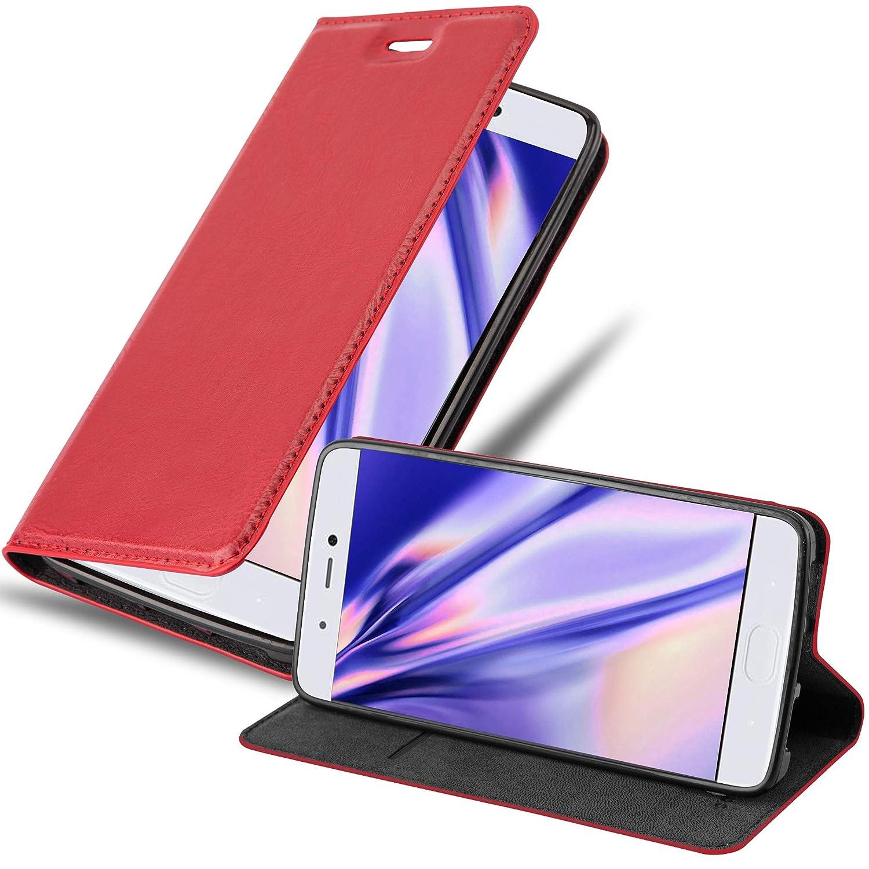 Cadorabo Funda Libro para Xiaomi Mi 5S en Rojo Manzana: Amazon.es ...