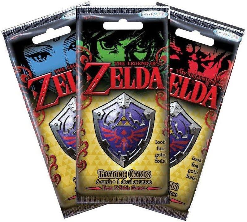 Zelda Cartas Coleccionables (24) en Inglés (No Jugable): Amazon.es: Juguetes y juegos
