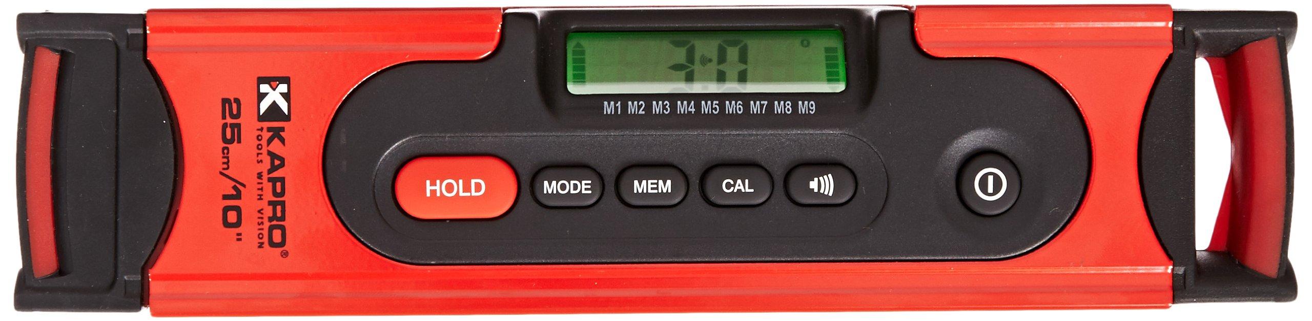 Kapro 985D-10 Digiman Professional Digital Level, 10-Inch