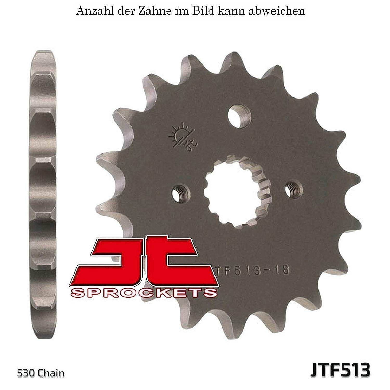 jt Sprockets Ritzel 14 Z/ähne FZS 600 N Fazer 1998-2003 JTF513.14