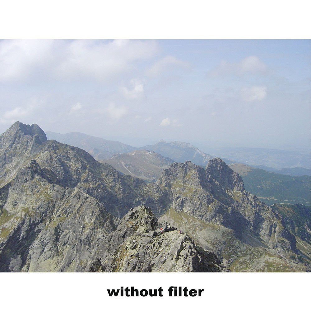 Per lobiettivo della fotocamera con filettatura del filtro da 62 mm Yunchenghe 62mm sottile filtro di protezione del filtro UV multi-rivestito