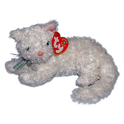 Ty Beanie Baby - STARLETT The White Cat [Toy]: Toys & Games