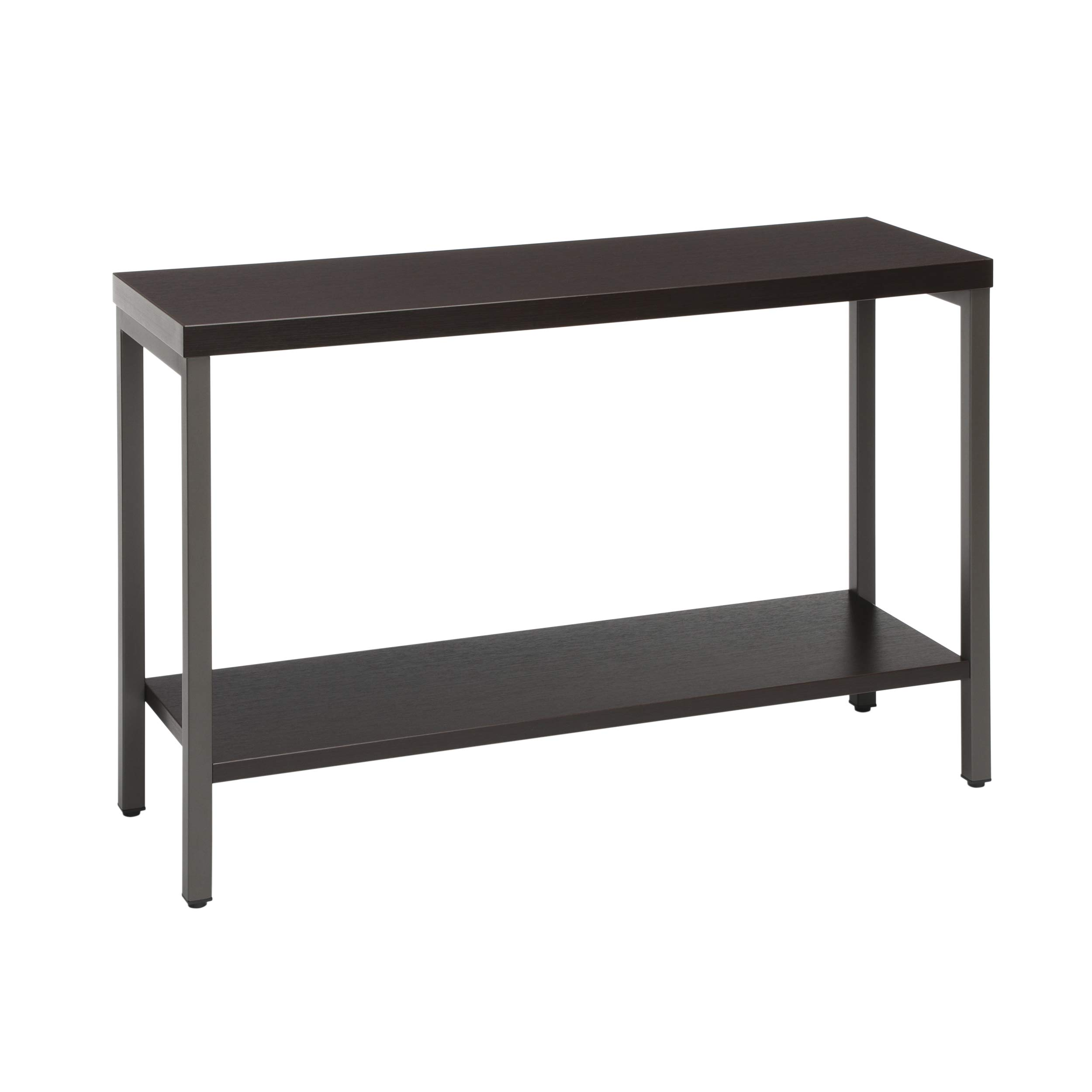 OFM Core Collection 44'' Modern Console Table with Shelf, Espresso by OFM