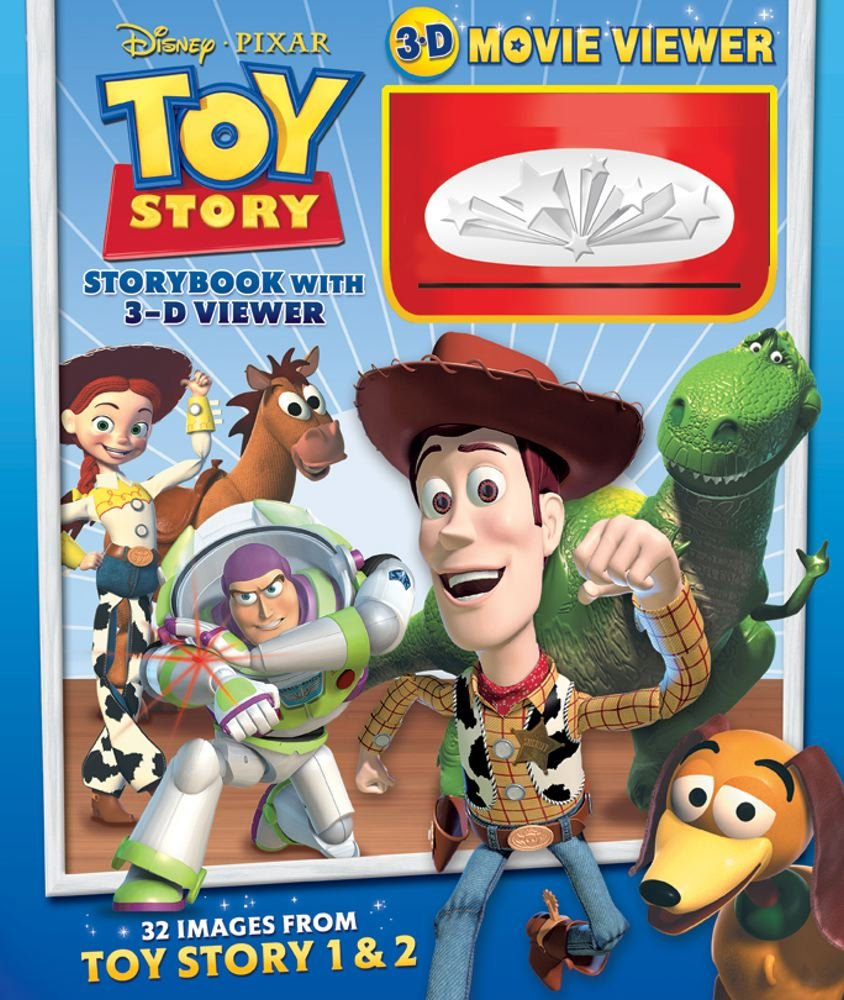 Toy Story Storybook with 3-D Viewer (Disney/Pixar) ebook