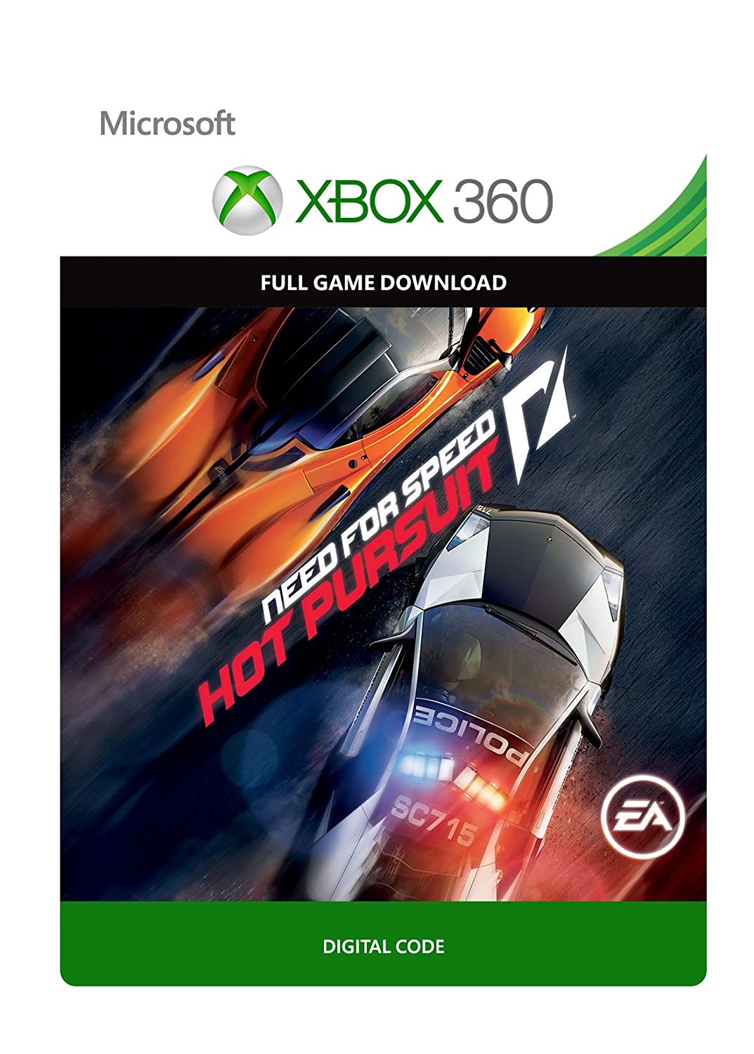 Amazon Com Need For Speed Hot Pursuit Xbox 360 Digital Code