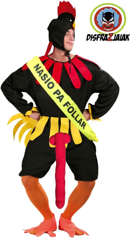 Disfraz de Kiki Gallo - Hombre, L: Amazon.es: Ropa y accesorios