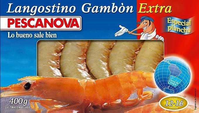 Pescanova, Gamba y langostinos congelado (Austral) - 400 gr.