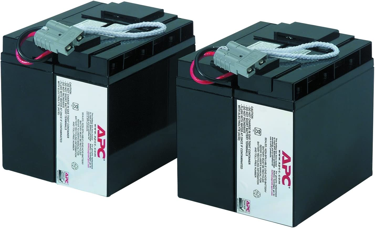 APC UPS Battery Replacement, RBC55, for APC Smart-UPS Models SMT2200, SMT3000, SMT2200C, SMT200US, SMT3000C, SUA2200, SUA3000, and select others