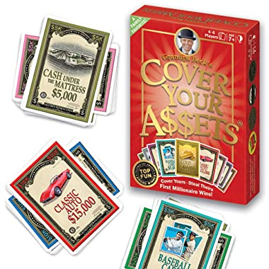 Grandpa Beck's Cover Your Assets Card Game | Fun Family-Friendly Set-Collecting Game | Enjoyed by Kids, Teens, and Adults | From the Creators of Skull King | Ideal for 2-8 Players Ages 7+