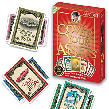 Grandpa Becks Cover Your Assets Card Game | Fun Family-Friendly Set-Collecting Game | Enjoyed by Kids, Teens, and Adults | From the Creators of Skull ...