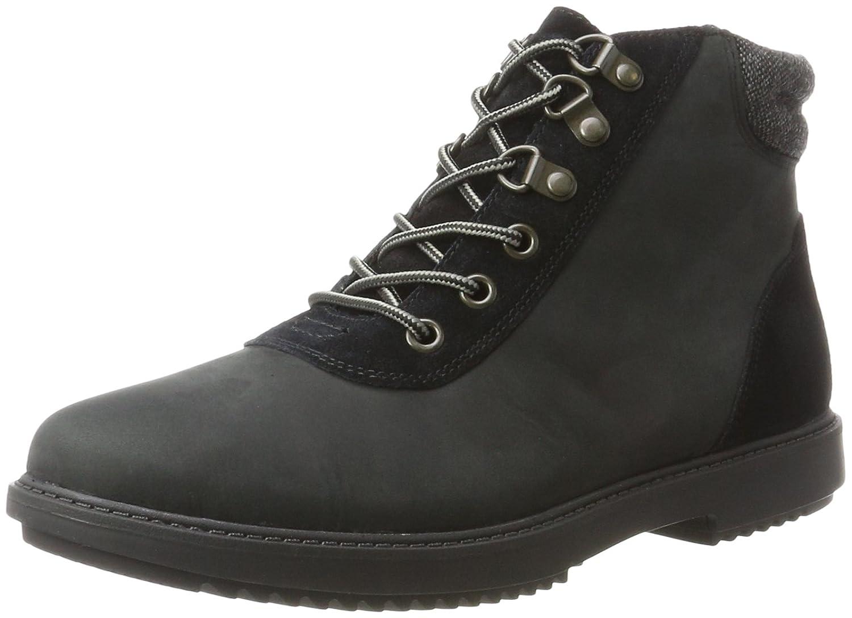 Clarks Raisie Vita, Botas para Mujer41.5 EU|Negro (Black Leather)