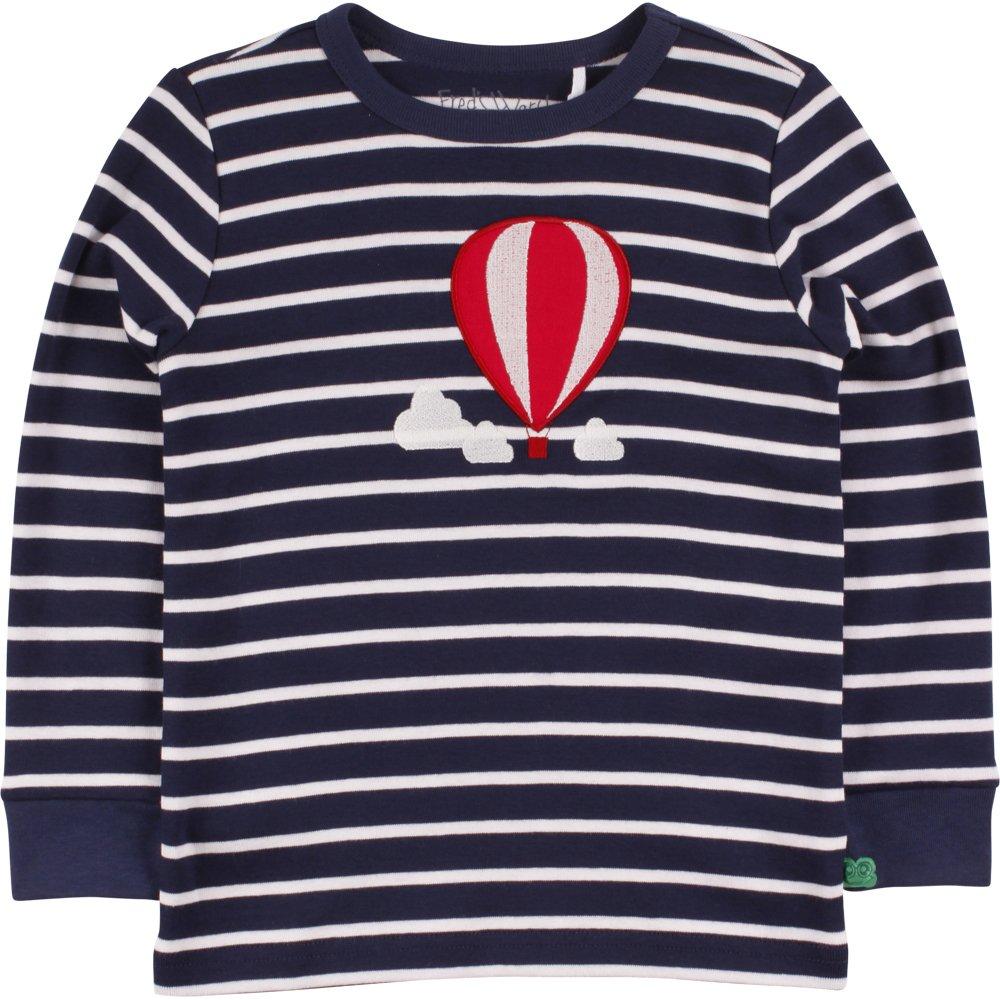 Frot's World by Grün Cotton Jungen Jungen Jungen T-Shirt Balloon Stripe T B06XJ6ZNTW T-Shirts Hohe Qualität und geringer Aufwand a22812