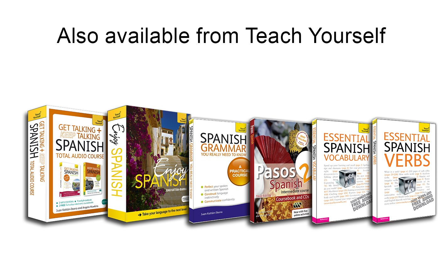 Get Talking/Keep Talking Spanish: A Teach Yourself Audio Pack (Teach Yourself: Beginner)