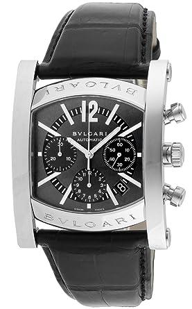 3cd20e170f [ブルガリ]BVLGARI 腕時計 AA48C14SLDCH アショーマ クロノグラフ グレー メンズ [並行輸入品]