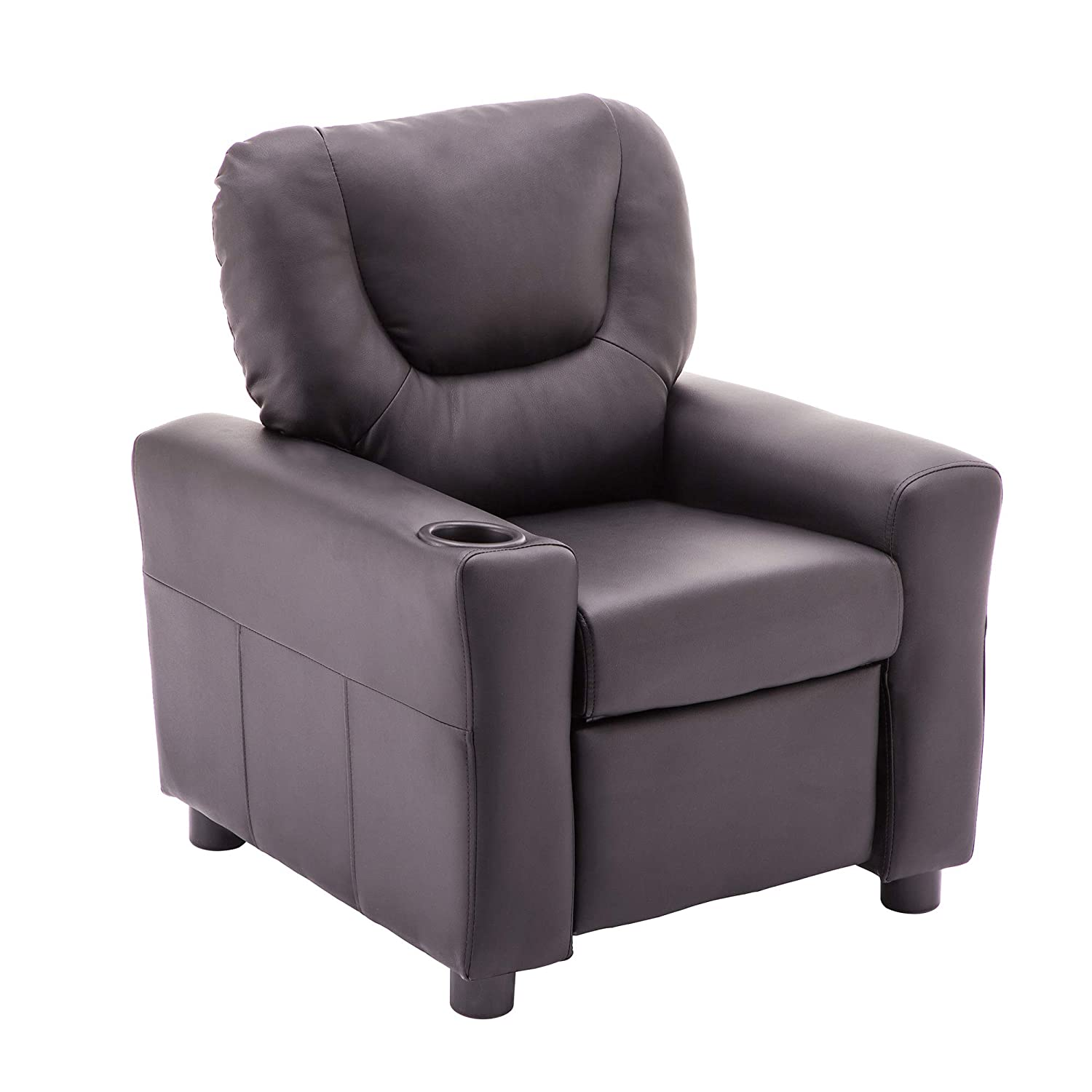 MCombo Kids Recliner Armchair Children's Furniture Sofa Seat Couch Chair w/Cup Holder
