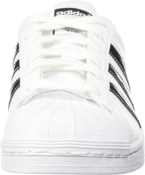 adidas Superstar DB1209 Leather Youth Trainers White Black