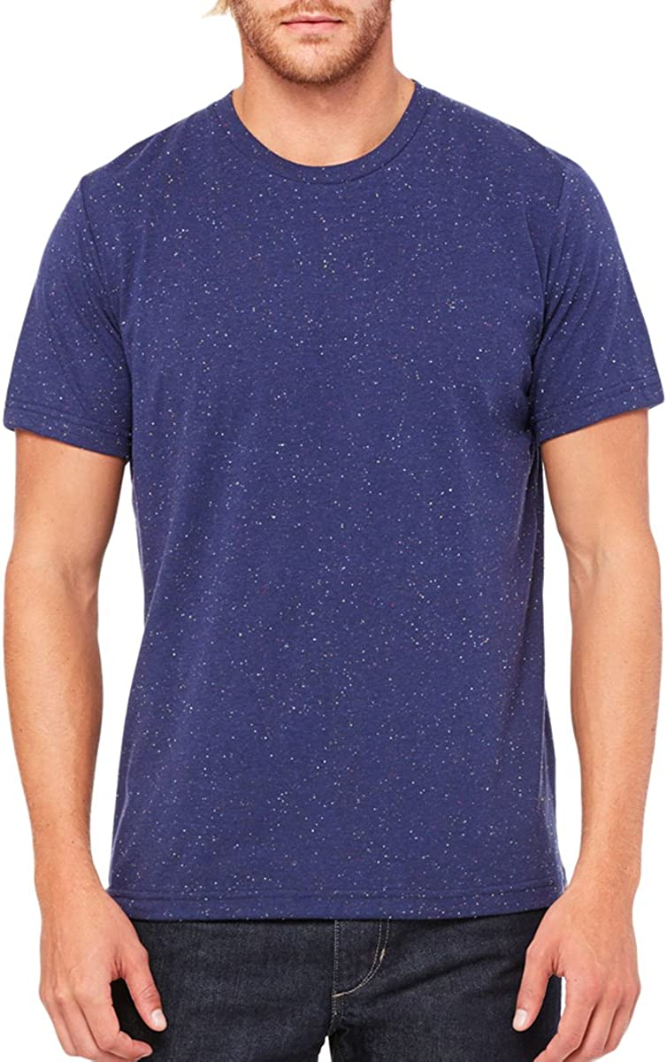 Bella 3650 Mens 3.6 oz US XX-Large Poly-Cotton T-Shirt NAVY