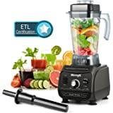 MengK Smoothies 1500W-2000W Blender for Shakes Professional Commercial Blenders for making Smoothies with 67oz BPA-Free Pitcher, kitchen Nutrition blender and food processor for Ice,Fruits&Vegetables