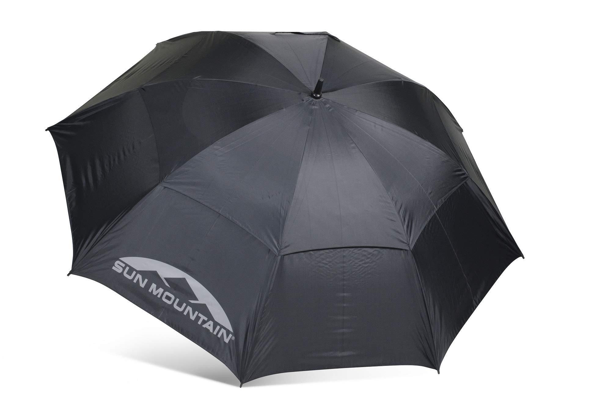 Sun Mountain 68'' Auto-Open Umbrella Black 68'' by Sun Mountain