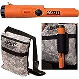 Garrett Pro Pointer AT Metal Detector Waterproof ProPointer with Garrett Camo Pouch