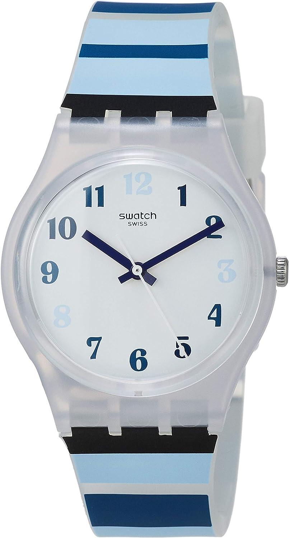 Swatch Reloj Analógico para Unisex Adultos de Cuarzo con Correa en Silicona GE275
