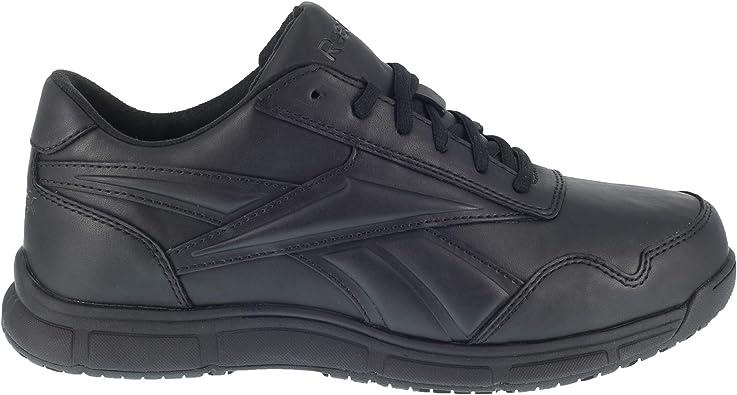voltaje Oclusión princesa  Amazon.com: Reebok Work Womens Jorie LT Slip Resistant Soft Toe EH Shoes  Casual Work & Safety Shoes, Black: Shoes