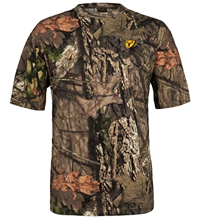43172e2e0abb5 Scent Blocker Men's Short Sleeve Cotton T-Shirt (Mossy Oak Country, Medium)