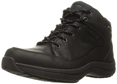 Dunham Men's Simon-Dun Chukka Boot, Black, ...