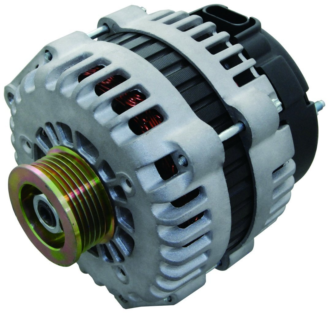 New Alternator Fits Chevy C Silverado Truck 60l 66l 03 Gm Vortec Wiring 81l 06 07 250 Amp High Output 6019239 10464405 Automotive