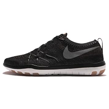 nike womens wmns free tr focus flyknit blackdark grey 5 m us - Free Sample Shoes